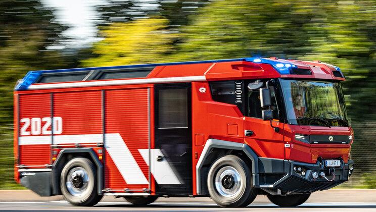 Camión de bomberos RT