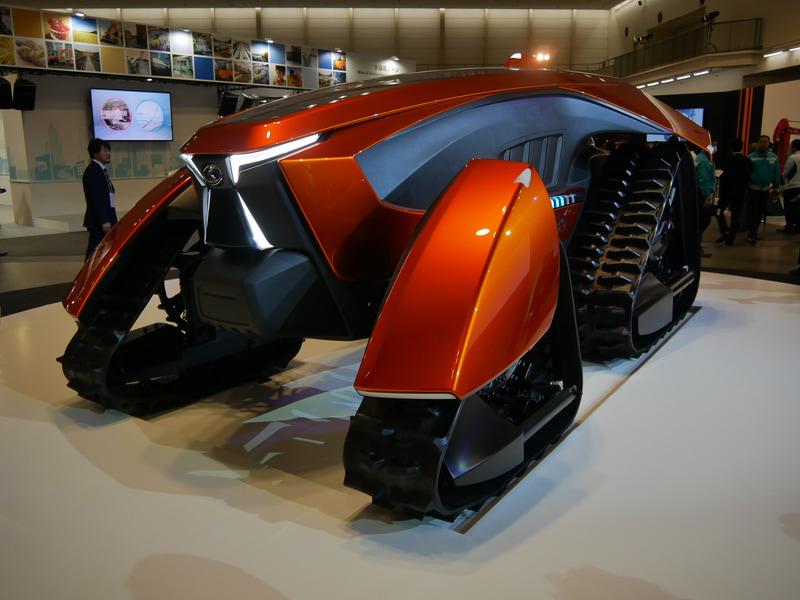 Kubota-X-Tractor