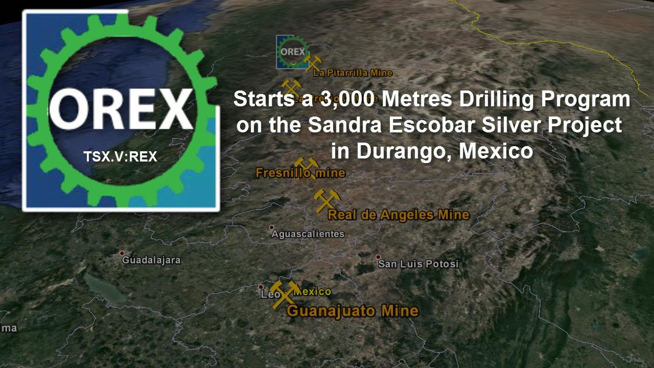 Orex-Minerals Sandra Durango