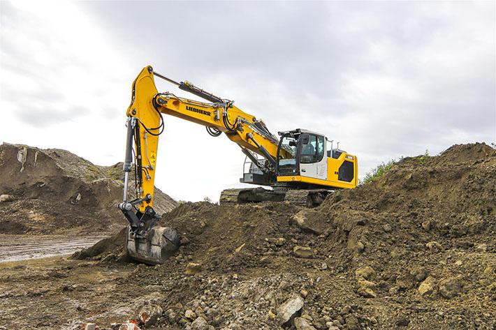 Excavadora Liebherr R 926 G8 - RevSobreOru