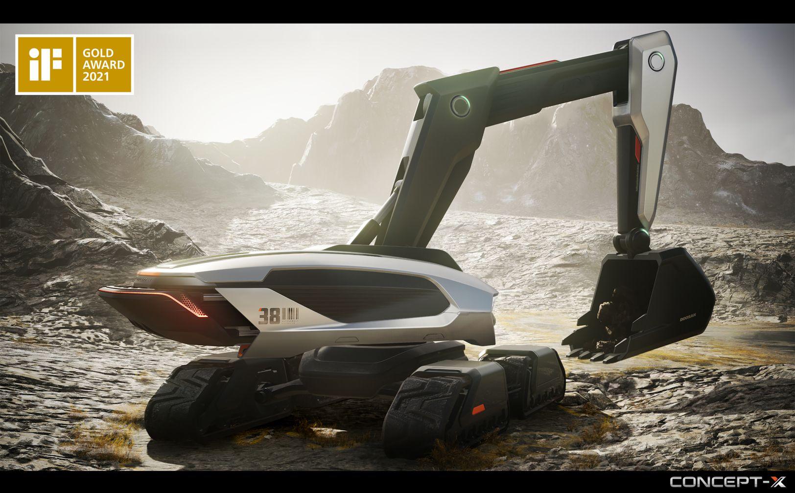 Excavator Concept-X - RevSobreOru