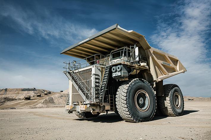 Camión minero T 274 Liebherr - RevSobreOru