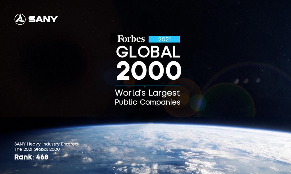 Equipos pesados SANY Forbes